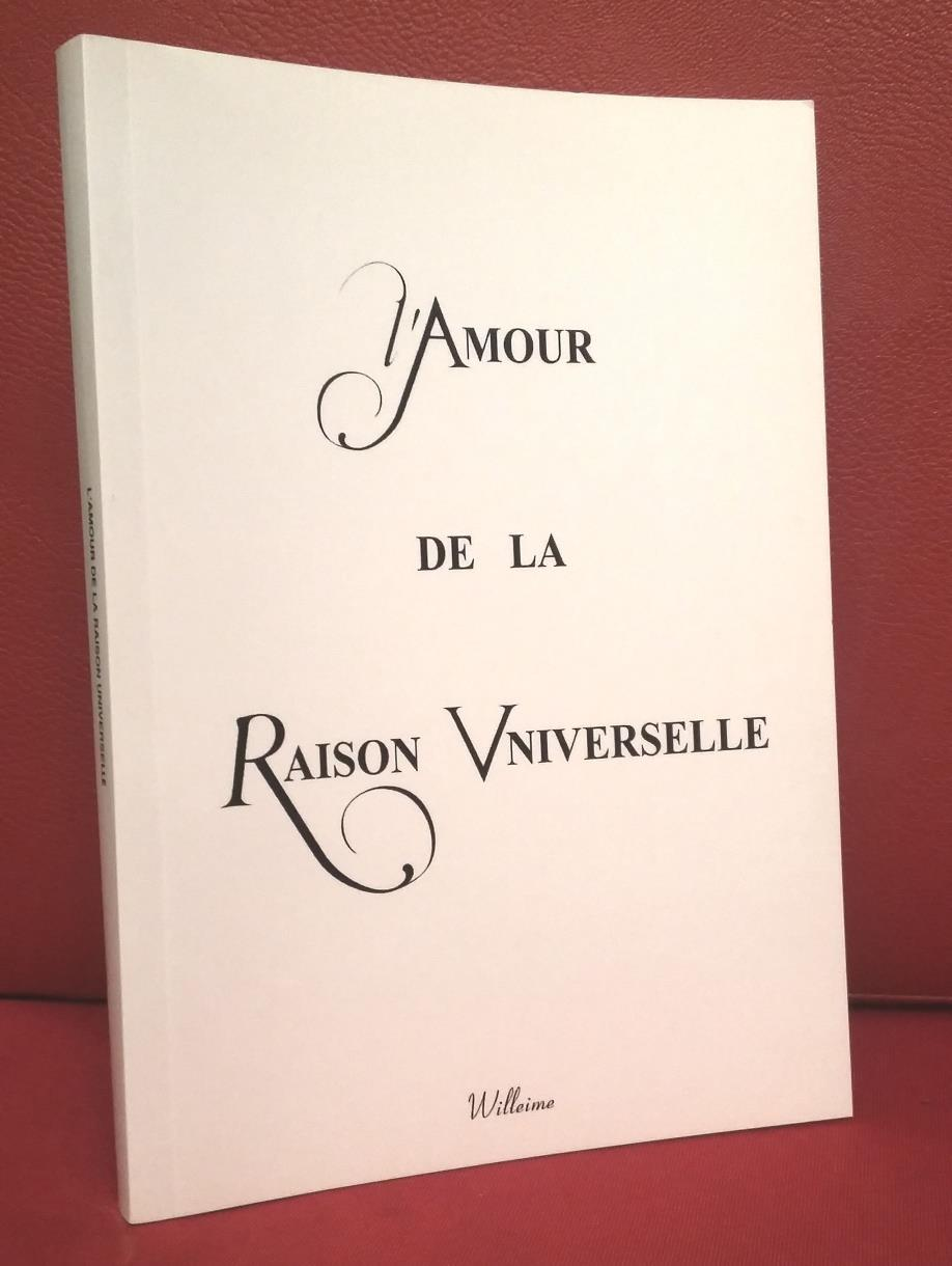 Couverture de l'amour de la Raison universelle